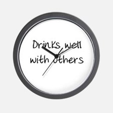 Drinks Well Wall Clock