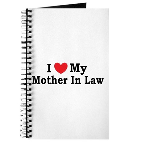 I love my Mother In Law Journal
