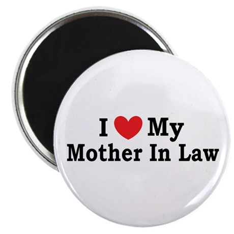 "I love my Mother In Law 2.25"" Magnet (10 pack)"