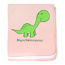 Munchkinsaurus baby blanket