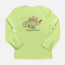 Nuggetsaurus Long Sleeve Infant T-Shirt