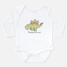 Nuggetsaurus Long Sleeve Infant Bodysuit