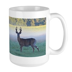 7 point buck Large Mug