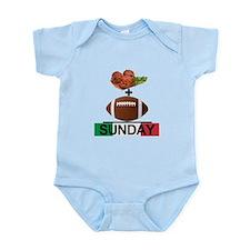 Gravy & Football = Sunday! Infant Bodysuit