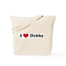 I Love Debby Tote Bag