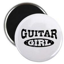 Guitar Girl Magnet