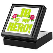 Beach Bum Hero Keepsake Box