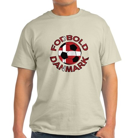 Danmark Denmark Football Fodb Light T-Shirt