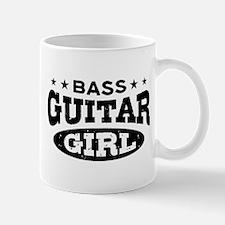 Bass Guitar Girl Mug