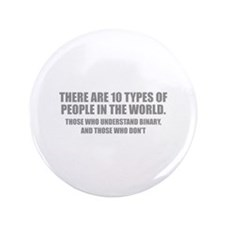 """10 types of people 3.5"""" Button"""