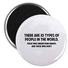 10 types of people Magnet