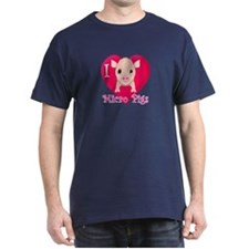 I Love Micro Pigs T-Shirt