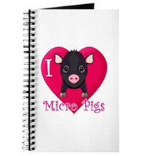 I Love Micro Pigs Journal