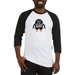Little Black Robot Baseball Jersey