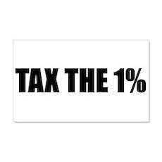 Tax the 1% 22x14 Wall Peel