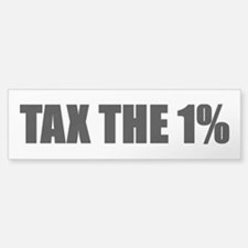 Tax the 1% Sticker (Bumper)