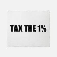 Tax the 1% Throw Blanket
