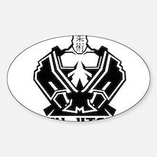12-4 Sticker (Oval)