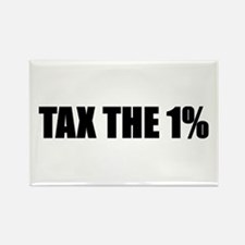 Tax the 1% Rectangle Magnet