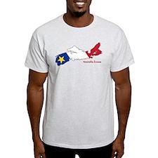 Acadian Flag Nova Scotia T-Shirt