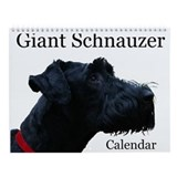 Giant schnauzer Wall Calendars
