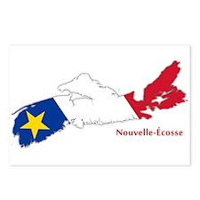 Acadian Flag Nova Scotia Postcards (Package of 8)