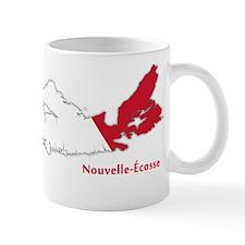 Acadian Flag Nova Scotia Mug