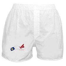 Acadian Flag Nova Scotia Boxer Shorts