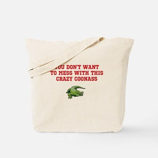 Cute Coonass Tote Bag