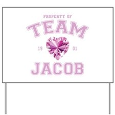 Team Jacob Yard Sign