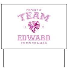Team Edward Yard Sign