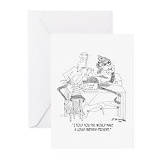 Junior Gene Splicing Kit Greeting Cards (Pk of 10)