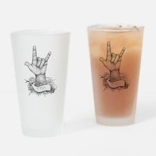 ILY ASL Drinking Glass