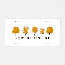 Autumn Trees - NH Aluminum License Plate