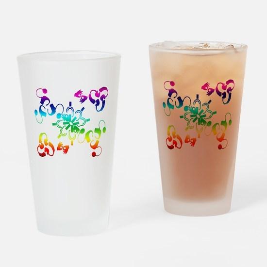 A hidden message Drinking Glass