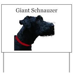 Giant Schnauzer Yard Sign