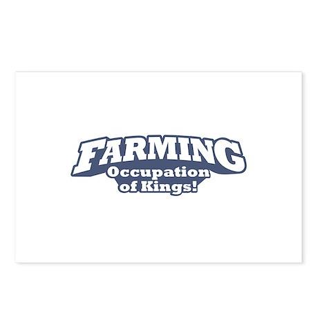 Farming / Kings Postcards (Package of 8)