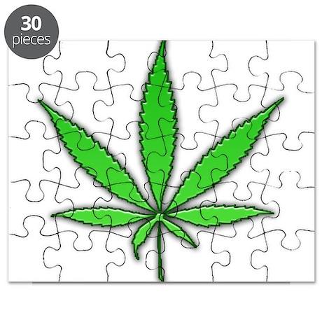 pot leaf drug Puzzle