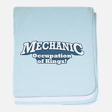 Mechanic / Kings baby blanket