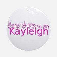 Kayleigh Ornament (Round)