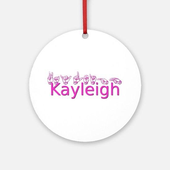 Kayleigh Ornament (Round)