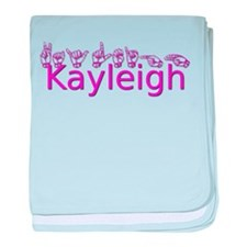 Kayleigh baby blanket