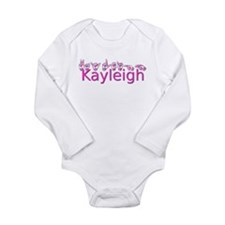 Kayleigh Long Sleeve Infant Bodysuit