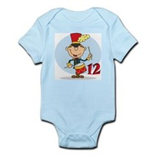 Twelve Drummers Drumming Infant Bodysuit