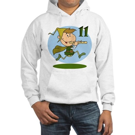 Eleven Pipers Piping Hooded Sweatshirt