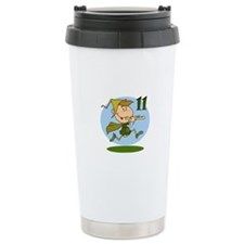 Eleven Pipers Piping Travel Mug