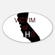 Cute California proposition Sticker (Oval)