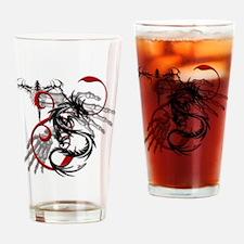 Skeleton Hands, Dragon Dagger Drinking Glass
