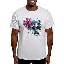 Phoenix Spiral Heart T-Shirt