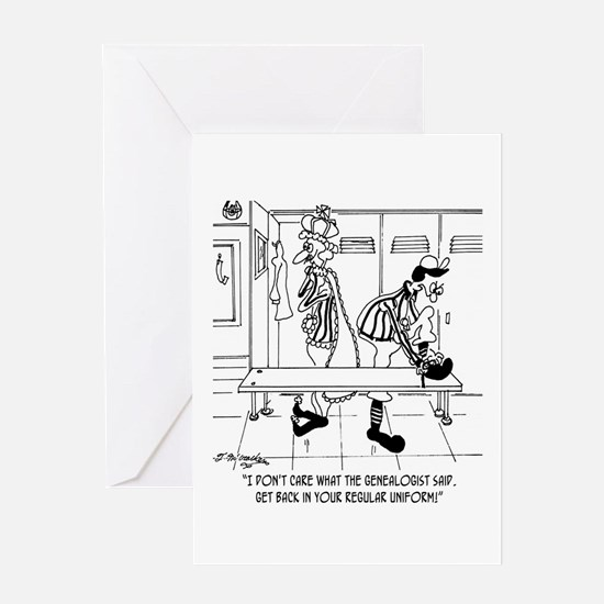Get Back In Uniform Greeting Card